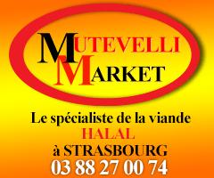 Mutevelli market - Viande halal - Strasbourg
